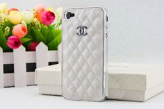 White Case Covers Extravagant Case Metal Plating by winifred88, $15.99