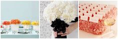 Flowers: Carnations on http://itsabrideslife.com