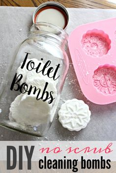 DIY Toilet Cleaner Tabs + 8 More Ways to Go Waste Free DIY bathroom cleaning fizzies toiletbombs crafts 697917273483637804 Deep Cleaning Tips, House Cleaning Tips, Natural Cleaning Products, Cleaning Hacks, Diy Hacks, Cleaning Supplies, Cleaning Recipes, Natural Cleaning Solutions, Green Cleaning