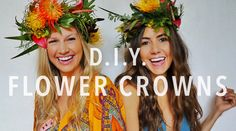 We got some of our Hawaiian besties together to learn the art of making of D.I.Y. tropical flower crown from the pros at Paiko botanical boutique in Honolulu, Hawaii!