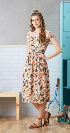 Só na Antix Store você encontra Vestido Estampa Romance com exclusividade na internet