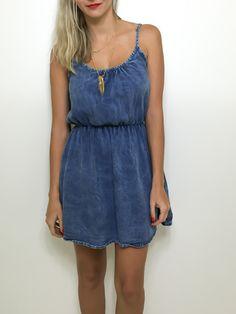 Vestido jeans - Flávia Christina