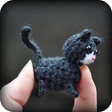 Resultado de imagen para amigurumi cat keychain free pattern