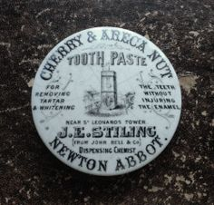 Rare Newton Abbot Pictorial Stiling CTP Potlid Pot Lid