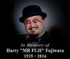 "RIP Harry ""Mr. Fuji"" Fujiwara 1935-2016"