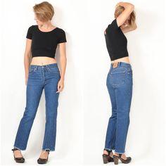 Vintage 1980s LEVI'S 501xx Jeans / 26x28 XS by ItinerantVintage