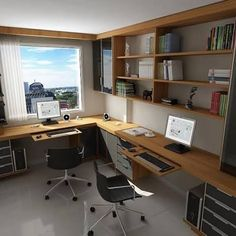 Trendy home small office layout Ideas Tiny Office, Small Space Office, Home Office Setup, Small Spaces, Office Ideas, Office Style, Bureau Design, Workspace Design, Office Interior Design