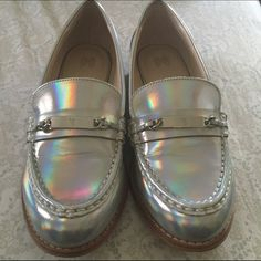 Hologram Victoria's Secret loafers Size 9 Victoria's Secret Shoes Flats & Loafers