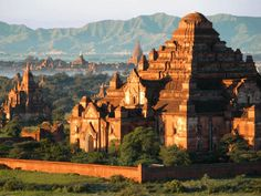 Bagan, Myanmar: so magical, it's one of the only few places in Asia I'd return to again. Beauty Around The World, Around The Worlds, Bagan, Buddhist Temple, Old Building, Beautiful Buildings, Buddhism, Laos, Places To See