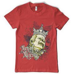 """T-Shirt men """"men of majesty"""" von MAD IN BERLIN auf DaWanda.com"""