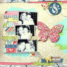 Creating A Confetti Embellishment by Missy Whidden August Main kit 2013