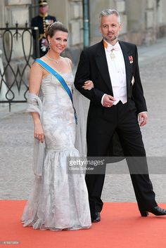 Princess Martha Louise of Norway and husband Ari Behn attend the royal wedding of Prince Carl Philip of Sweden and Sofia Hellqvist at The Royal Palace on June 13, 2015 in Stockholm, Sweden.  (Photo by Gisela Schober/Getty Images)