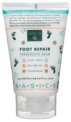 Earth Therapeutics Foot Repair Balm, 4-Ounce Tube (Pack of 3) Earth Therapeutics http://www.amazon.com/dp/B0018OSGBM/ref=cm_sw_r_pi_dp_pJdiub16MFPBQ