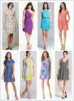 Quatro tipos de vestidos para usar em 2017