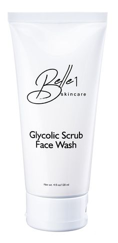 Belle1 Skincare Glycolic Facial Cleanser and Scrub Face Wash - Made in USA *** Don't get left behind, see this great  product : Face Cleansers Skin Care