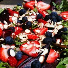 Almond Triple Berry Salad