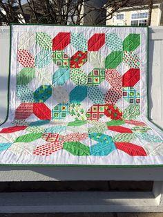 Custom Christmas Quilt on Etsy, $85.00