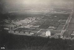 Benoordenhout ca. 1929 met de Nirwanaflat rechtsonder en de Johannes Bildersstraat (diagonaal) linksboven.