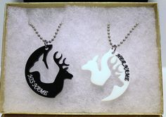 Buck & Doe Personalized Browning Necklaces .