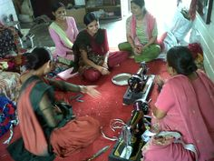SHRAM cooperative just bought a new sewing machine!