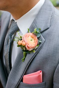 Crazy for Coral Real Wedding with Details Galore