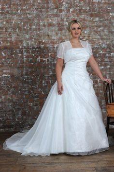 Wishesbridal Plus Size Bridal Wedding Dress