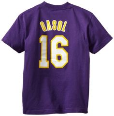 Pau Gasol Los Angeles Lakers Shirts