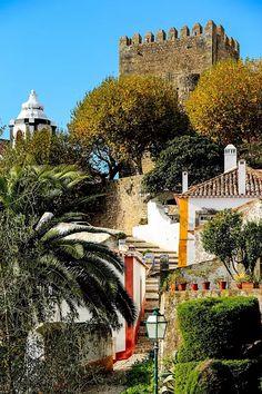 Escadas do Castelo - Óbidos (Portugal) #portulogia #gourmet #wine #vinho #Portugal