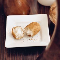 "Ricotta-Stuffed Arancini Arancini means ""little oranges,"" referring to the golden color of these fried rice balls and to their usual round shape. A popular Italian snack, aran..."