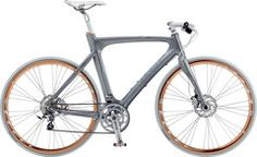 Cyclife - The Urban Cycling Specialists: Airbase XM 18 Speed Metal Grey Mens