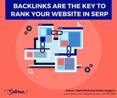 Backlinks are the key to rank your website in SERP. Backlinks can help to improve organic SEO rankings only if they are of high quality. Search engine finds the quality backlinks bots faster indexing to promote the webpages in SERP position. Digital Marketing Strategist, Digital Marketing Business, Seo Marketing, Digital Marketing Services, Seo Services, Seo Techniques, Seo Ranking, Seo Agency, Business Look