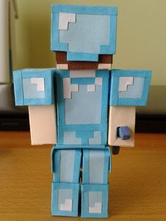 Minecraft Steve With Diamond Armor | deviantART: More Like minecraft Steve kills skeleton by ~nyahbo1