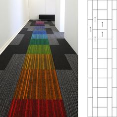 burmatex tivoli carpet palnks and code carpet tiles | burmatex, flooring, carpet, carpet tiles, colour, rainbow