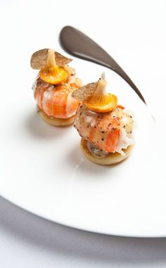 The Square Restaurant - Mayfair - Michelin star #TrueFoodies #fortruefoodiesonly #plating #presentation