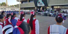 La DRSE Costa Norte presentó una muestra de escoltas de escuelas primarias de Puerto Vallarta