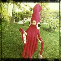 The Chronicles of The Feaseys: GIANT SQUID HALLOWEEN COSTUME
