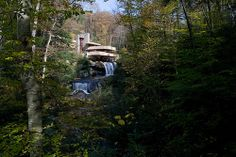 Fallingwater, Mill Run, PA - Frank Lloyd Wright