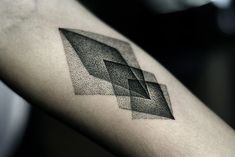 http://tattoo-ideas.us/wp-content/uploads/2013/11/Black-Rhombus-Tattoo.jpg Black Rhombus Tattoo #Armtattoos, #BlackInk, #Minimalistic