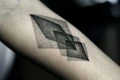 http://tattoo-ideas.us/wp-content/uploads/2013/11/Black-Rhombus-Tattoo.jpg Black Rhombus Tattoo #Armtattoos, #BlackInk, #Minimalistic