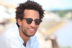 stylish man sunglasses