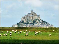 Le Mont Saint Michel, my favourite place in France