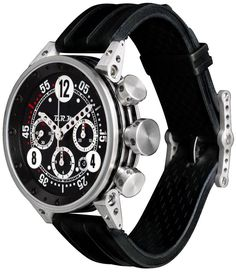 B.R.M. Watches V12-44 Silver Hands Watch $6500
