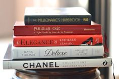 I have really enjoyed putting together some of my favorite reading recommendations for Feather Factor, and today I wanted to share with you some of my favorite fashion and style books.