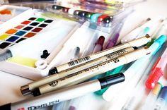 alisaburke: videoes and sketching tutorials.  Great site!
