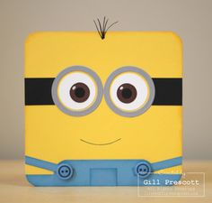 Despicable me minion card -www.lilybygilly.wordpress.com