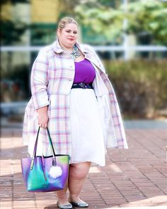 """Happy Friday fam!  My latest blog post """"Coat Envy"""" featuring this custom coat by @eshakti is now live.  Click the link in my bio to get all the details.  Killer photography by @r.skuja_photographer . #realfashionforrealpeople #eShakti #psstyle #psfashion #psblogger #plussizestyle #plussizefashion #plussizeblogger #plussizebeauties #plusmodel #torontostyle #torontoblogger #celebratemysize #pmmlovemybody #cns2 #daretowear #girlwithcurves #boldncurvy #30plusstyle #ownyourcurves #fullfigured…"""