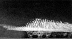 Konrad Wachsmann. Hangar for the American Air Force. 1951.
