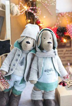 Лавка Тильда | зайцы, интерьерные куклы, мишки