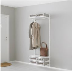 shoe and jaket storage