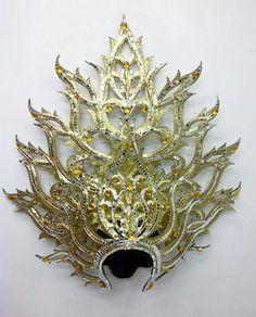 Da NeeNa KALI2 Goddess Kali showgirl Vegas Damned Empress Headdress